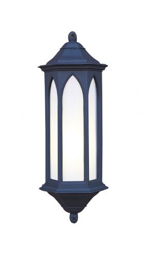 Winchester 1-light Low Energy Outdoor Wall Light Black Stone finish, Large WR22/LE
